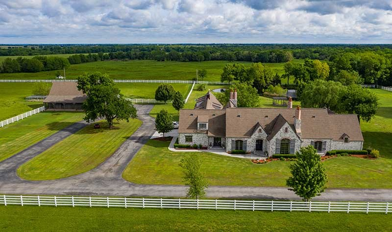 Pioneer Creek Estate Ranch in Oklahoma