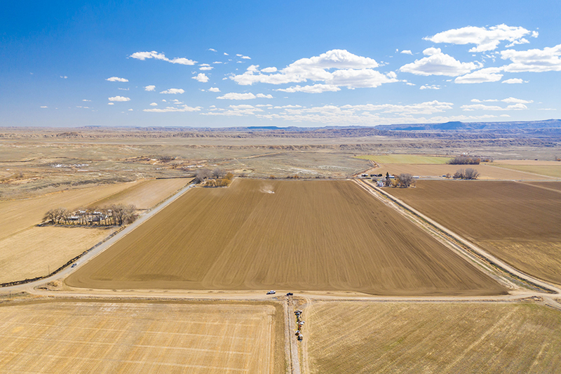 Wyoming farm land for sale