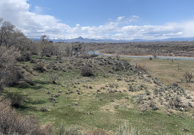 Wyoming river farm land for sale
