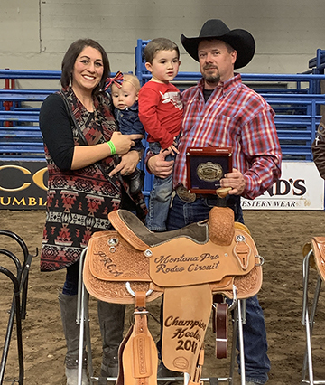 Ranch Company represented at the 40th Annual Montana Pro Rodeo Association Circuit Finals