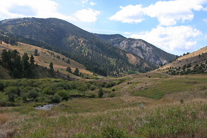 Sixteen Mile Creek Canyon Ranch in Montana