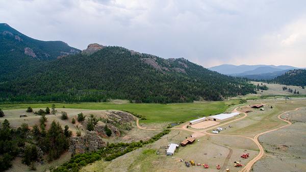 Hay Creek Ranch Lake George Colorado Park County Farms Ranches