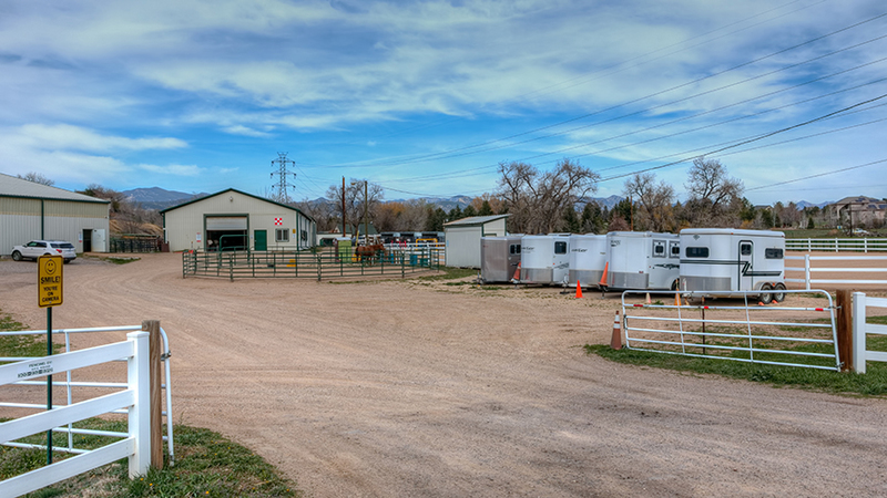 Golden West Equestrian Center in Colorado