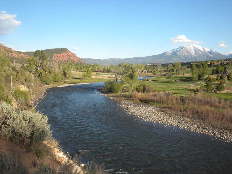 Fishing property in Colorado