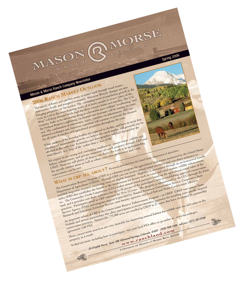 May 18th, 2006  Ranch Farm Spring Real Estate Newsletter