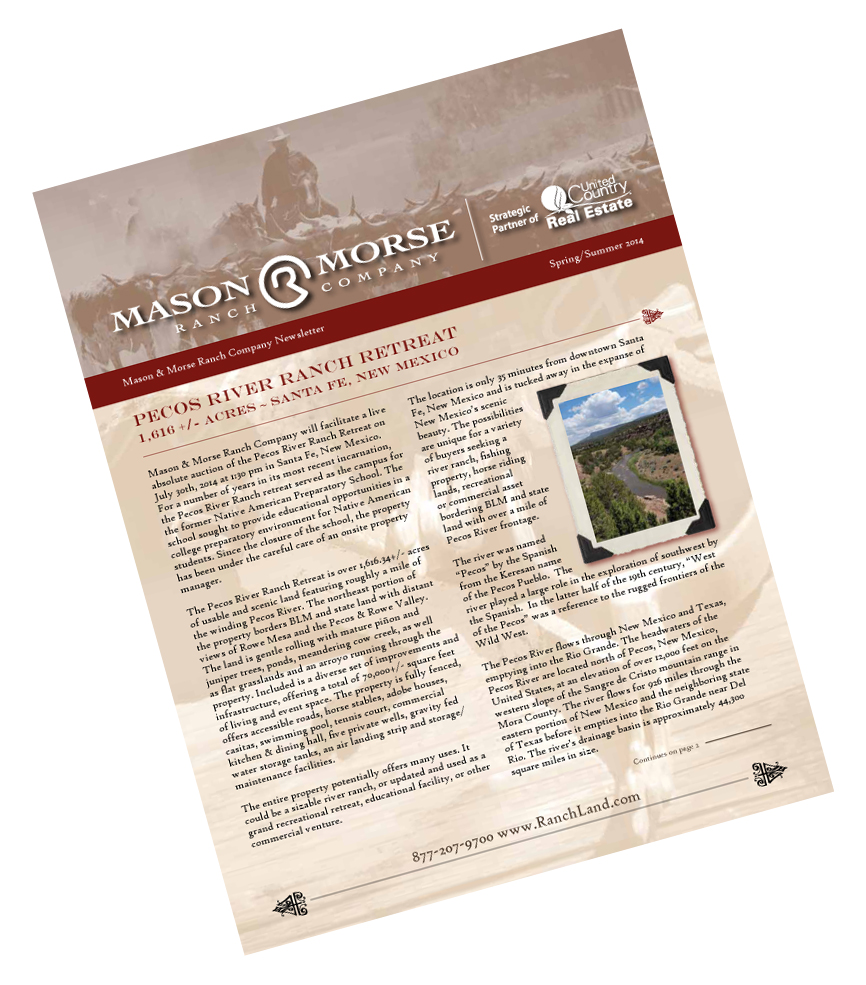 Ranch Farm Land Newsletter 2012 Farms For Sale Ranches For Sale News